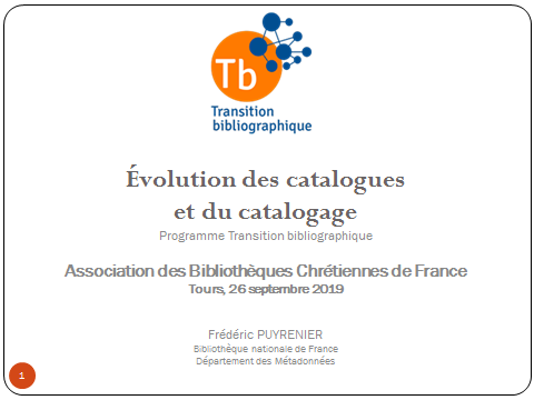 Transition bibliographique